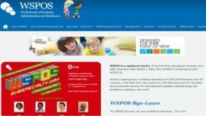 המרכז לעצירת קוצר ראייה פרופ' יאיר מורד דר' ניר ארדינסט גאים בפרופ' יאיר מורד שנמנה בין מארגני התוכנית המקצועית בכנס WSPOS קופנהגן דנמרק 2016. WSPOS הם ראשי התיבות של World Society Of Pediatric Ophthalmology and Strabismus או בתרגום: האיגוד העולמי לרפואת עיניים ילדים ופזילה.